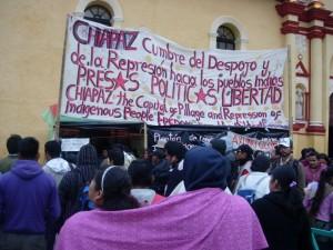 JORNADAS DE APOYO NACIONAL E INTERNACIONAL POR LOS COMPAÑEROS PRESOS EN HUELGA EN CHIAPAS
