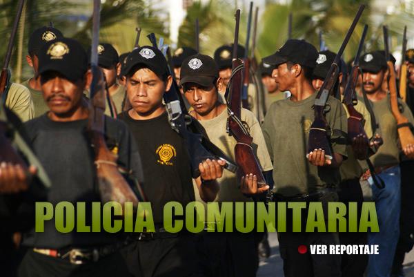«Rechazamos cualquier intento gubernamental para oficializarnos, jamás nos subordinaremos al Estado», afirma policía comunitaria de Guerrero.