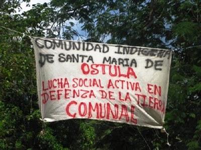 «Hay una guerra desatada por los gobiernos y los carteles en contra de los pueblos de México», Santa María Ostula