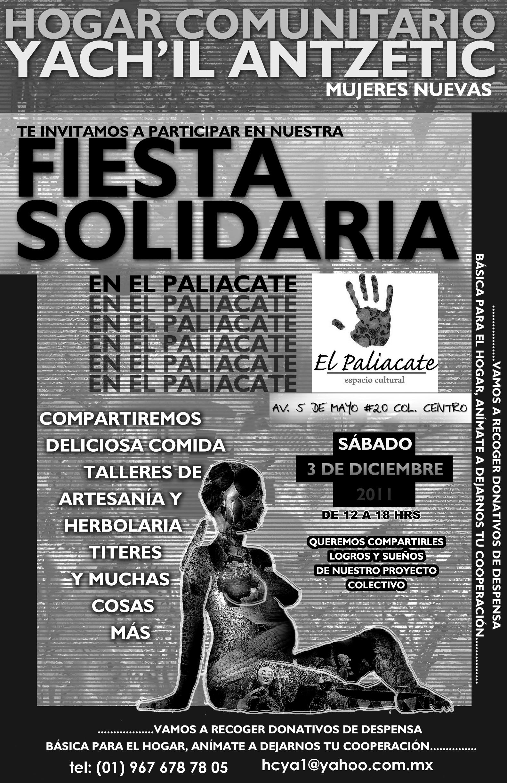 HYCA Fiesta solidaria propuesta 2