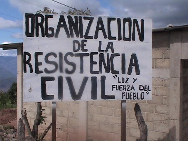 """COMUNICADO DE """"LUZ Y FUERZA DEL PUEBLO"""",  CHIAPAS MEXICO."""