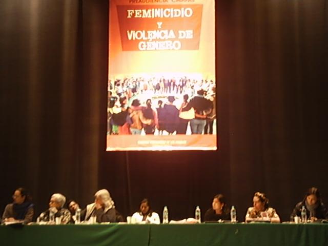"""Preaudiencia """"Feminicidio y violencia de género en Chiapas"""". Tribunal Permanente de los Pueblos"""