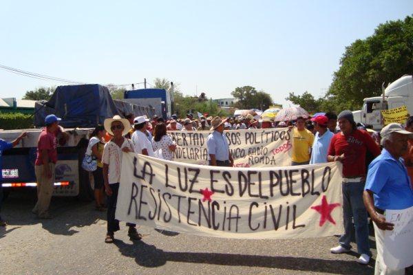 Desde 11 estados hacen un llamado a la «Resistencia y a la Organización contra altos cobros de luz»