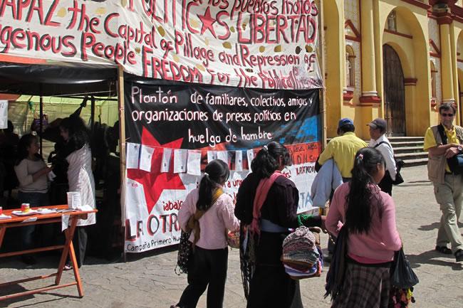 Audio: Entrevista a Dominga Lopez Diaz detenida en Chiapas en febrero de 2012