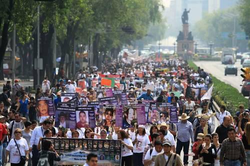 Marcha de la Dignidad «Madres buscando a sus hijas e hijos y buscando justicia»