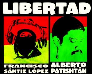 DECLARACIÓN MUNDIAL EN EXIGENCIA DE LA LIBERACIÓN INMEDIATA DE FRANCISCO SÁNTIZ LÓPEZ Y ALBERTO PATISHTÁN GÓMEZ