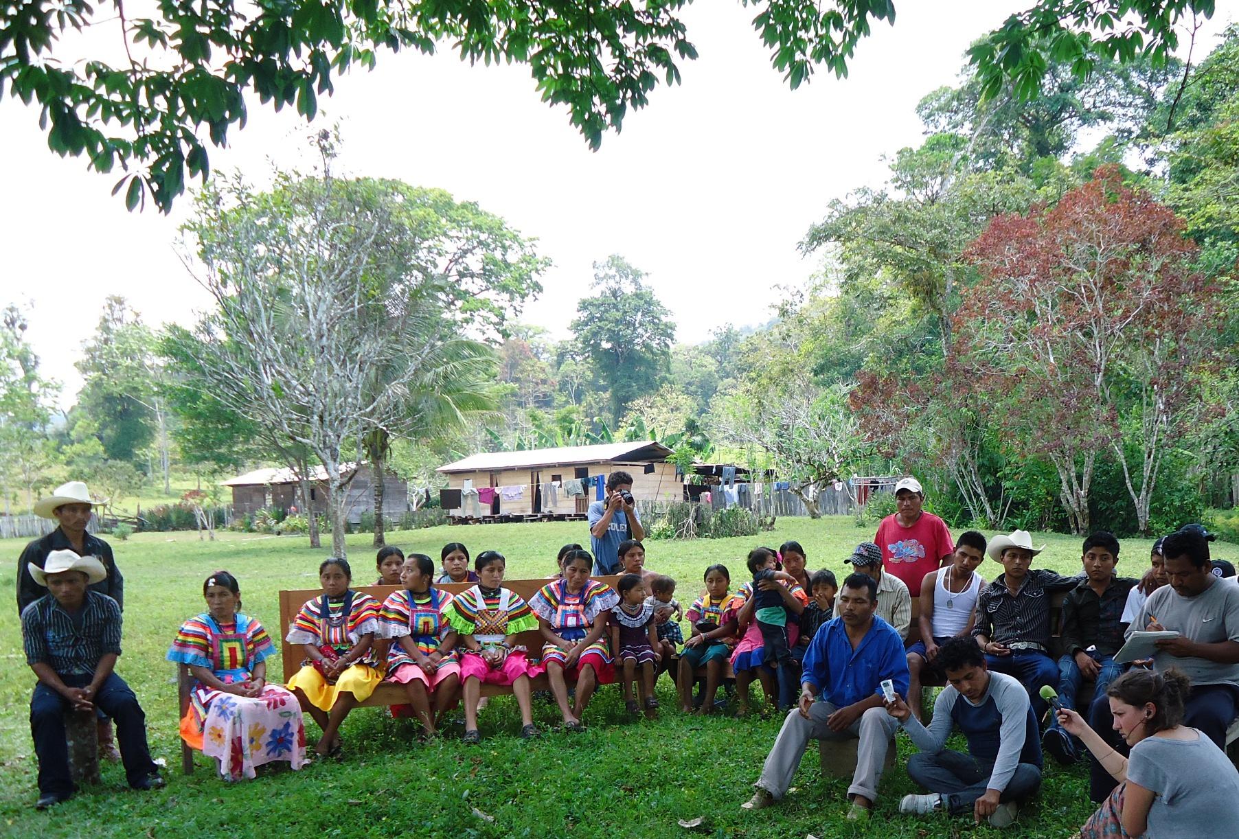 Presentación del Informe Misión Civil de Solidaridad con poblados de Montes Azules en Chiapas