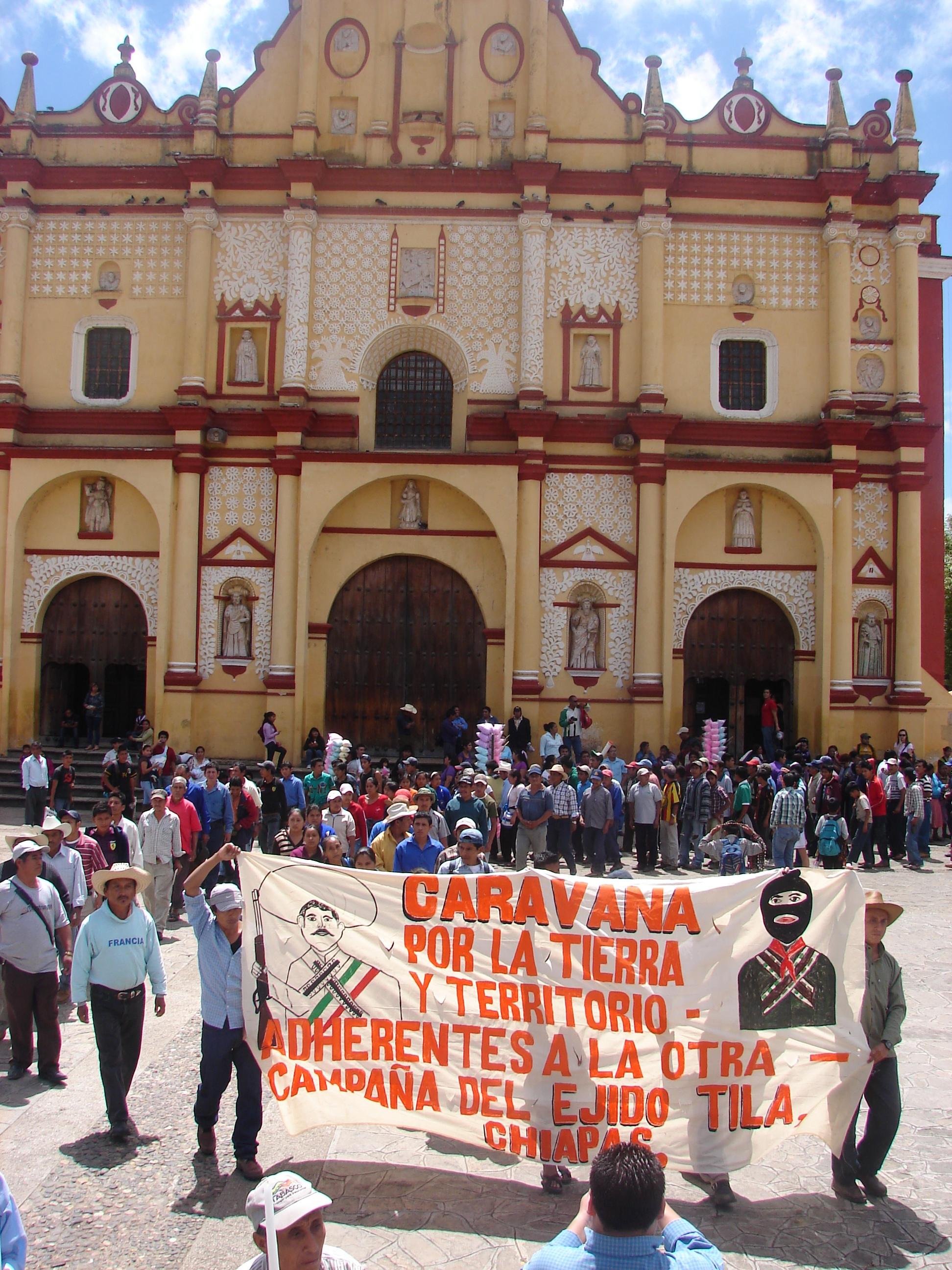 LUNES 30 DE JULIO INICIA CARAVANA DE TILA CHIAPAS A LA CIUDAD DE MÉXICO