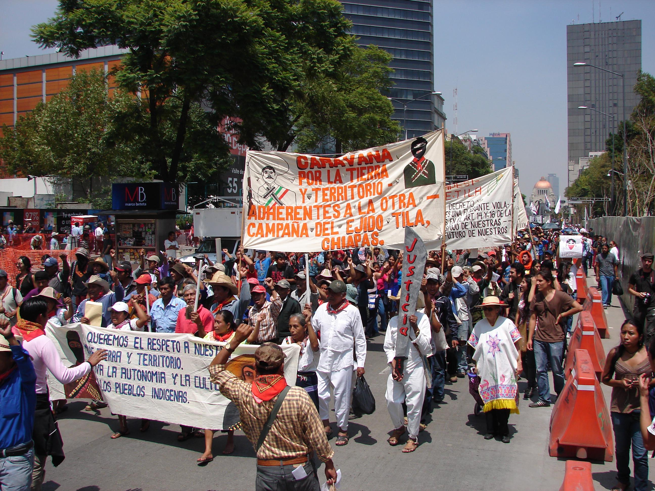 Suprema corte pospone fallo sobre el caso de los indígenas de Tila Chiapas, la espera continúa…