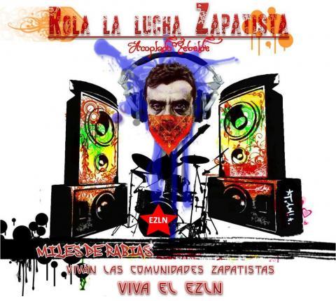 Presentación del disco Rola La Lucha Zapatista en San Cristóbal de las Casas, Chiapas