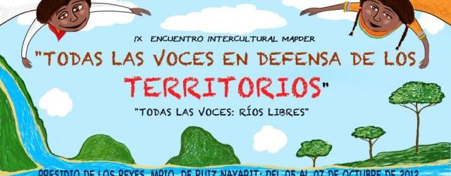 Encuentro del Movimiento Mexicano de Afectados por las Presas y en Defensa de los Ríos