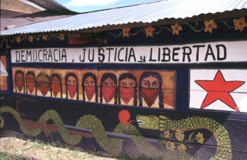 EZLN denuncia agresiones,despojos y violencia de personas afiliadas a los partidos políticos en San Marcos Avilés Chiapas