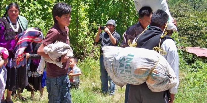 Desplazamiento forzado de 70 personas del ejido Puebla en Chenalhó Chiapas