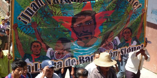 El 12 de noviembre, la suprema corte decide si atrae o no, caso del ejido San Sebastián Bachajón.