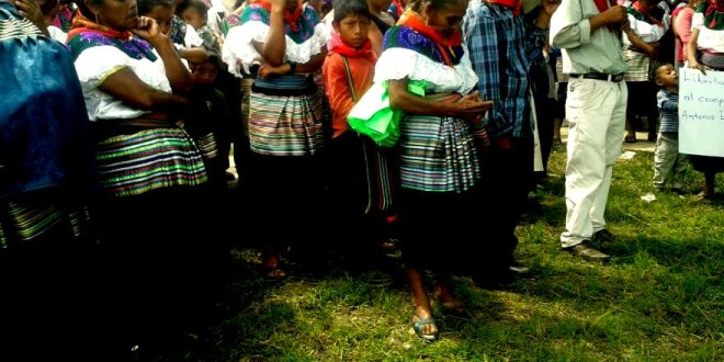"""Chiapas: """"Ayúdenme a salir de aquí"""", suplica indígena preso injustamente y enfermo, del ejido Bachajón."""