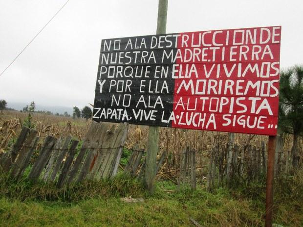 Amparo contra la autopista San Cristóbal-Palenque