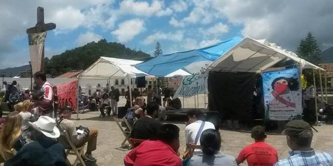 Desde San Cristóbal de las Casas organizaciones solidarias con el EZLN recuerdan que !Galeano Vive!