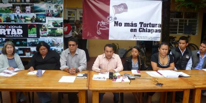 Centro de derechos humanos Fray Bartolomé de las Casas realizará Informe Especial sobre la Tortura En Chiapas.