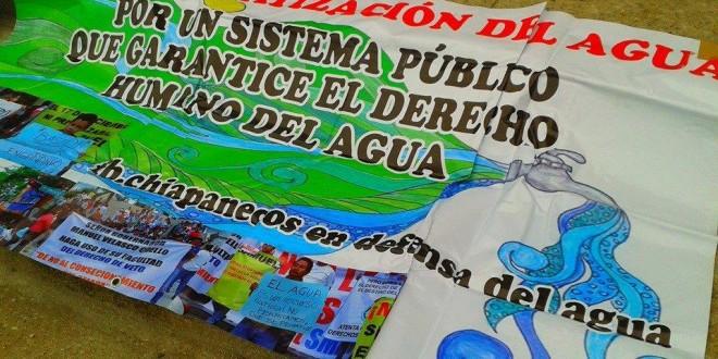 «La gestión de Alfredo Araujo Esquinca, frente al SMAPA no está dada bajo los principios de honestidad, transparencia y democracia», Chiapanec@s en defensa del Agua.
