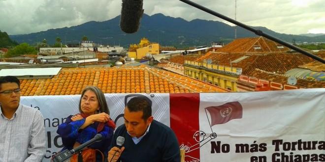 """Chiapas: """"La tortura es parte esencial de la necropolítica  de los que mandan mandando y matando""""."""