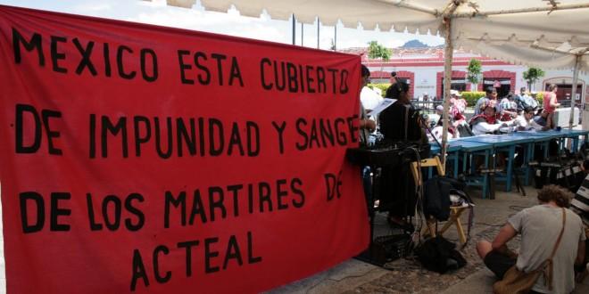 «Enríque Peña Nieto, un sirviente en turno del sistema capitalista neoliberal»: Abejas de Acteal