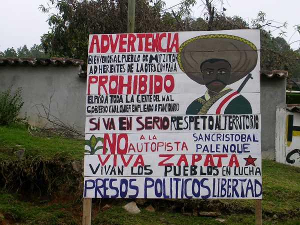 Denuncia del pueblo de Mitzitón, Chiapas
