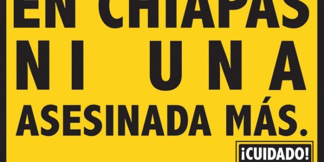 En Chiapas exigen justicia por el feminicidio de Citlali de Lourdes Molina Aguilar