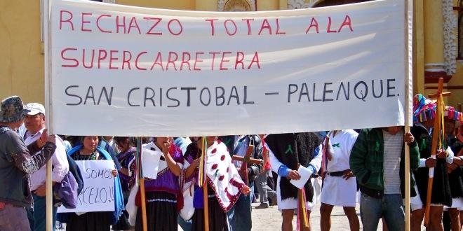"""Autipista San Cristóbal-Palenque: «Una obra que enriquecerá a los que más tienen, y poco quedará para los pueblos originarios""""."""