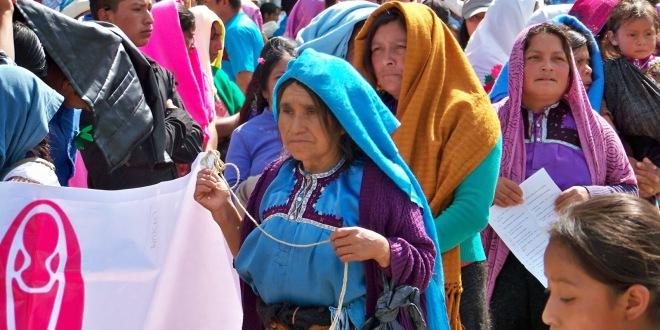 CHIAPAS: ¡MUJERES EN LUCHANDO, POR TIERRA Y TERRITORIO!