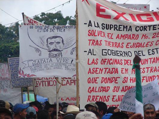 «Usurpación de la Asamblea ejidal y Autoridades, por el mal gobierno y su grupo de caciques», denuncia el ejido Tila