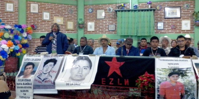 Festival de las Resistencias y Rebeldías contra el capitalismo, en San Cristóbal de las Casas.