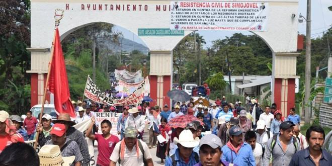 Simojovel Chiapas: Importante, significativa y oportuna la Peregrinación del Pueblo Creyente.