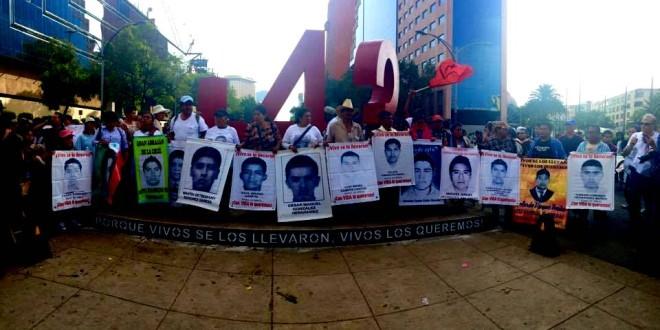 +43, un Antimonumento destinado a ser retirado el día que el Estado presente con vida a las y los más de 30 mil +43 desaparecidos.