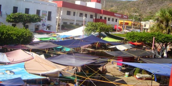Arriaga Chiapas: Policías Municipales amenazan, hostigan y agreden a locatarios del mercado.
