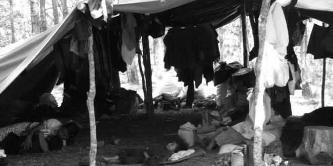 Chiapas: Misión Civil de Observación de DH al campamento de desplazados del Poblado Primero de Agosto