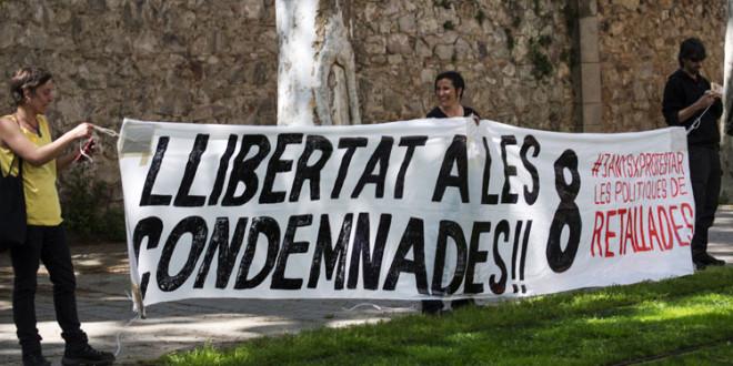 Barcelona: Audiencia Nacional ordena el ingreso en prisión de las ocho condenadas por la acción Paremos el Parlamento