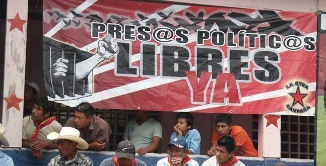 Denuncia de Esteban Gómez Jiménez, preso político de San Sebastián Bachajón.