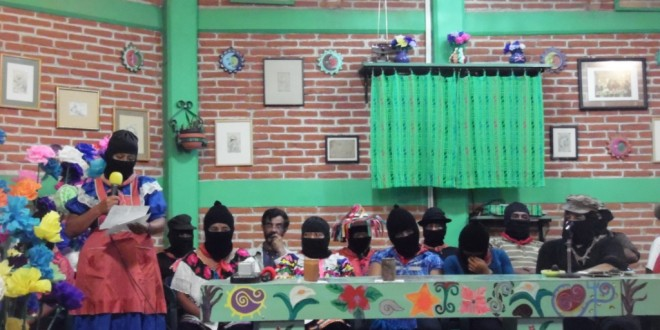 Un honor escuchar a tres generaciones de mujeres del EZLN, Sub Galeano.