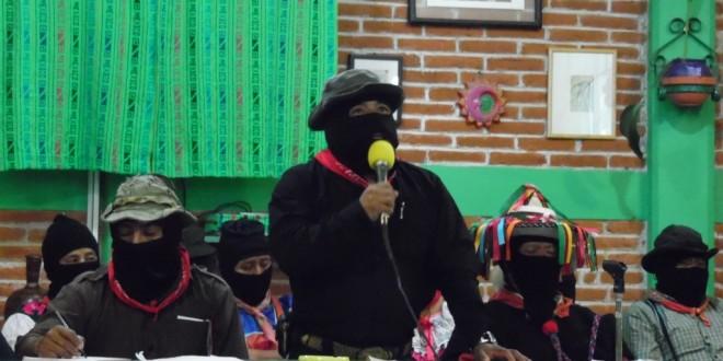 Tras clausurar encuentro en Chiapas, el EZLN se solidariza con jornaleros de San Quintín