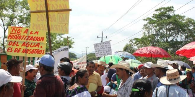 Chiapas: Asamblea en el municipio de Chilón, exige abastecimiento de agua potable