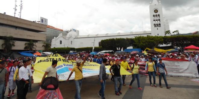 Movimiento magisterial de Chiapas, reforzará plantón de la CNTE en la ciudad de México.