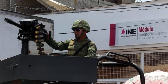 México: Elección militarizada