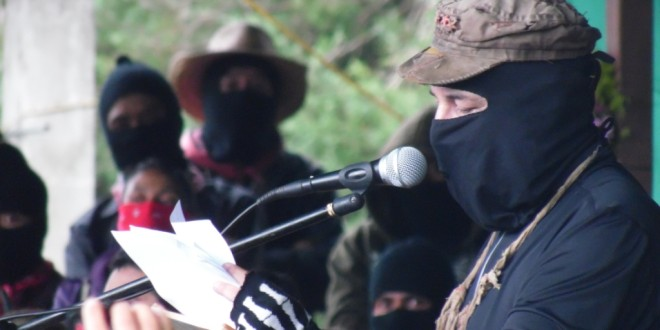 """Chiapas, México, el Mundo. Fragmento del texto """"Una Guerra Mundial"""", del SupGaleano."""
