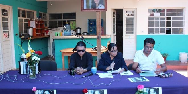 «Nuestra Nadia, en defensa de la memoria». Desde Chiapas exigen justicia ante múltiple asesinato en la Ciudad de México.