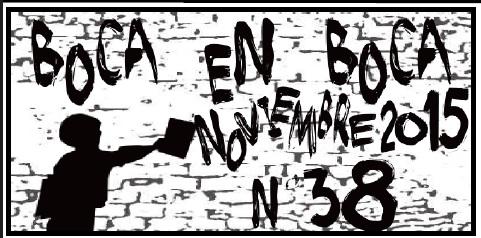 Revista BoCa En BoCa #38 *Noviembre 2015*