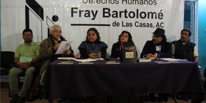 La prioridad de Velasco Coello es su imagen, la de su partido y sus aspiraciones políticas, no los derechos humanos: Frayba.