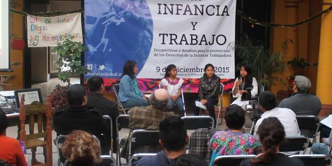 """Chiapas: """"Crisis económica, social y política como resultado del modelo económico neoliberal"""", informe DDHH sobre trabajo infantil."""