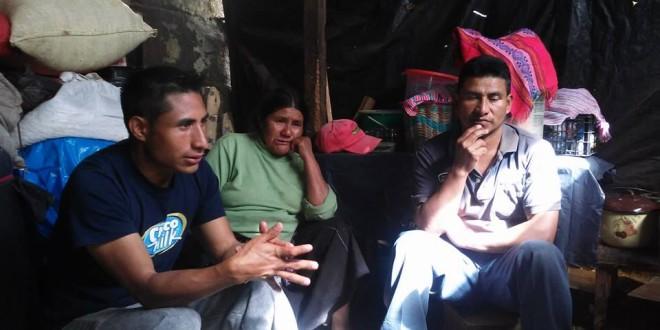 Verdad, Justicia y retorno exigen familias desplazadas de Banavil, Chiapas