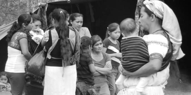Chiapas: Por omisión del gobierno, fallece María Fernanda, bebé de 4 meses, denuncian indígenas desplazados.