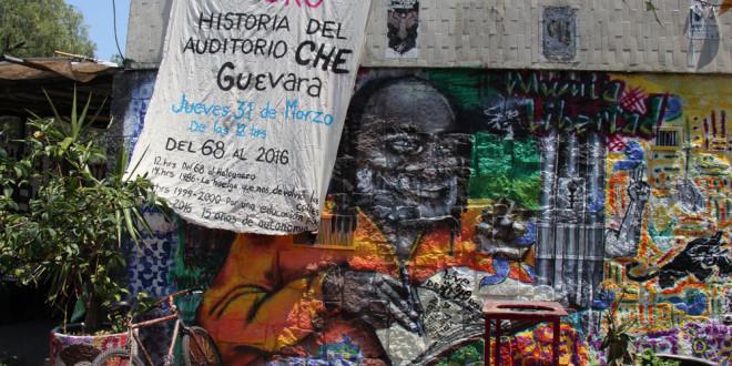 FORO: Historia del Auditorio Che Guevara, de la UNAM.